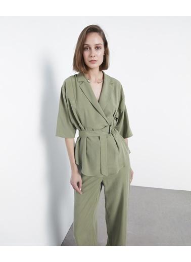 Ipekyol Bluz Yeşil